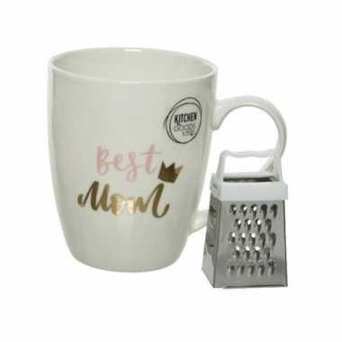 Best mom cadeau mok / beker voor moederdag 300 ml