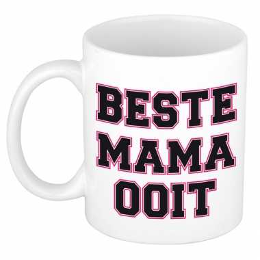 Beste mama ooit kado mok / beker voor moederdag / verjaardag