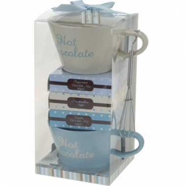 Cadeausetje hot drinks chocolade
