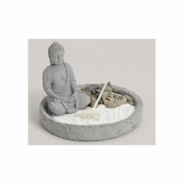 Japans boeddha zen tuintje 14 cm