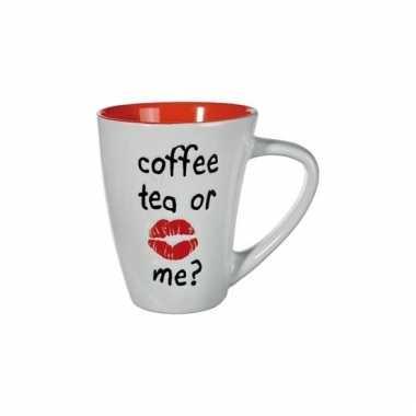 Melkbeker oranje coffee tea or me
