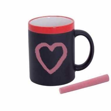 Valentijnscadeau mok met eigen tekst